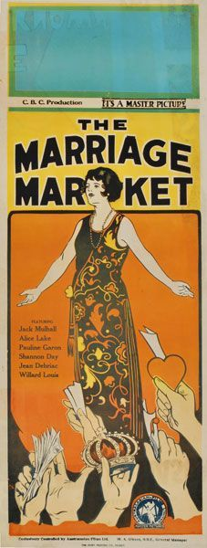 Silent movie posters value
