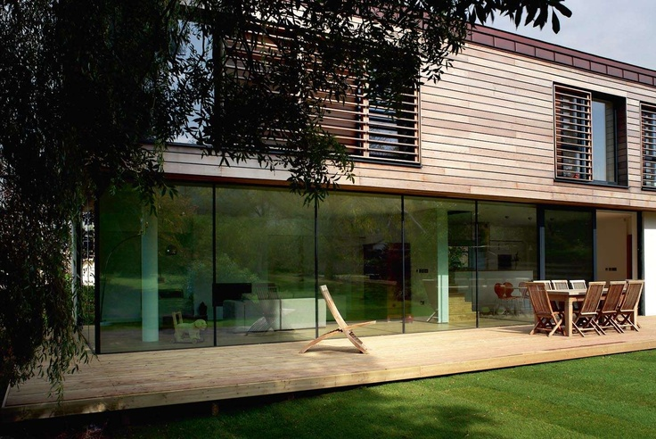 Modern house design a self build in somerset for Contemporary self build homes