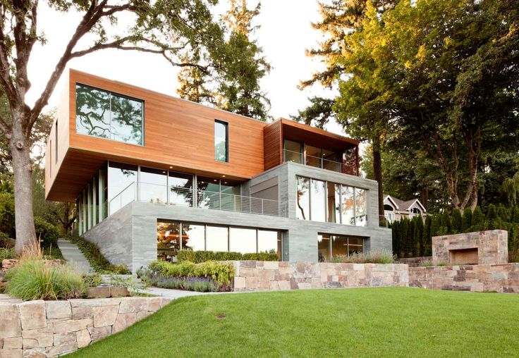 Modern house design lake oswego residence firm 151 via for Sofa by design lake oswego