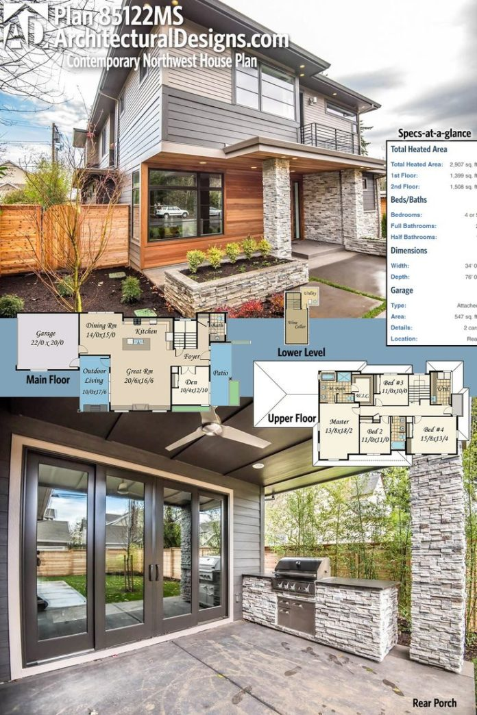 Modern House Plans Architectural Designs Contemporary