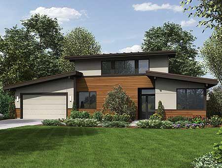 Modern House Plans Modern Master Up House Plan Dear