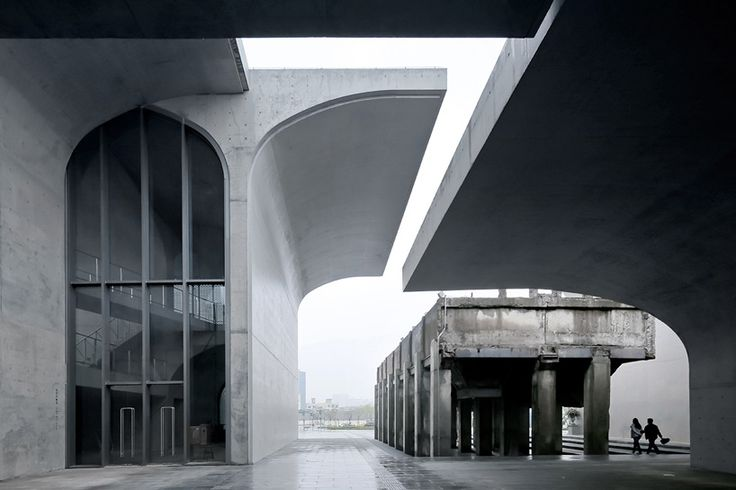 Architecture Modern Design Vaulted Concrete Forms