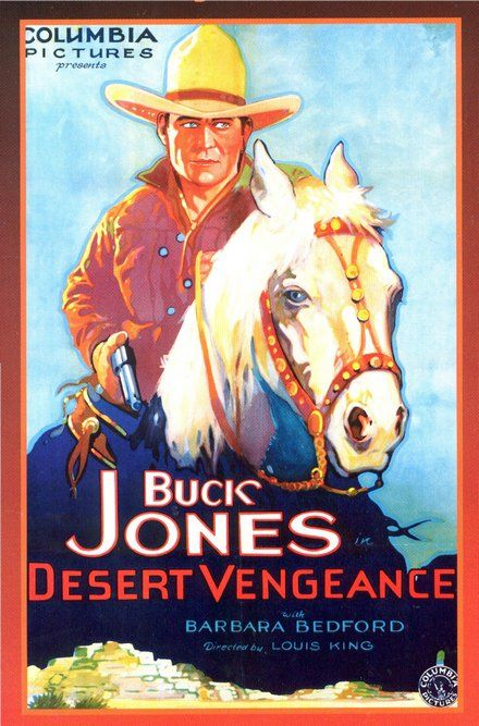 picture regarding Movie Posters Printable identify Most straightforward Movie Posters : Buck Jones, Desert Vengeance - Typical
