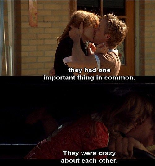 Best Movie Quotes : The Notebook.... - Dear Art | Leading ...