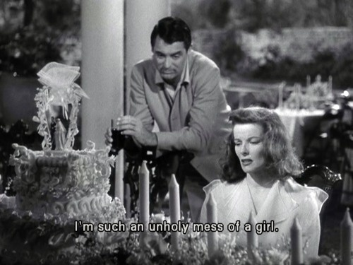 Best Movie Quotes : The Philadelphia Story   Dear Art | Leading