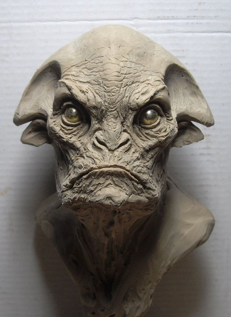 Easy Clay Sculptures Alien Clay Sketch By Boularis On