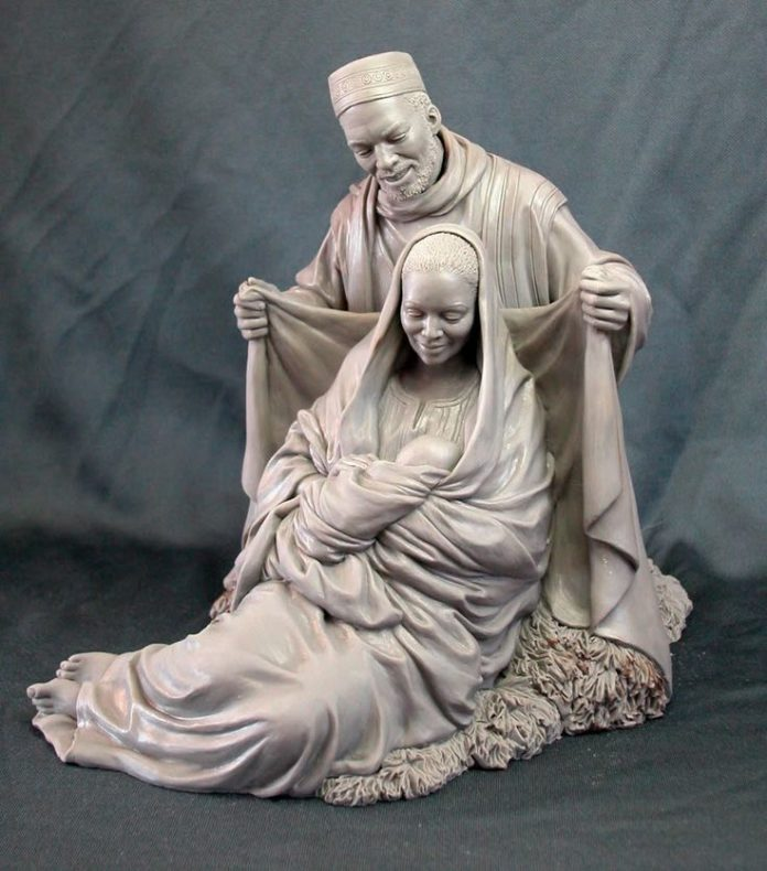 Easy clay sculptures the holy family mark newman