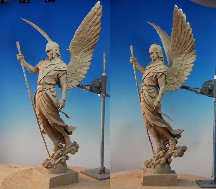Easy clay sculptures facebook dear art
