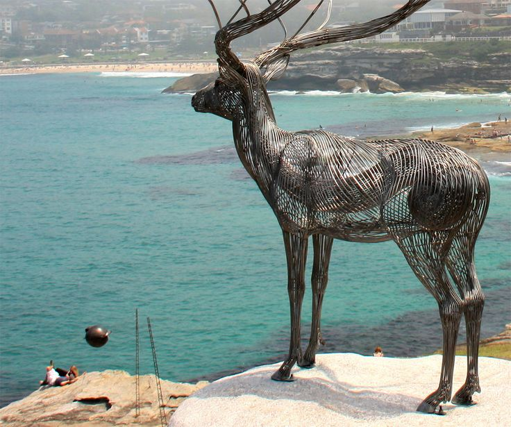Metallic Sculpture : Steel Animal Sculptures by Byeong Doo Moon at ...