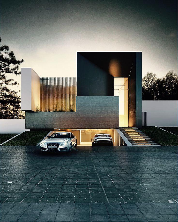 Modern House Design Architecture TERRA HOUSE