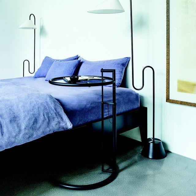 Modern interiors design classicon adjustable table e - E 1027 table by eileen gray ...