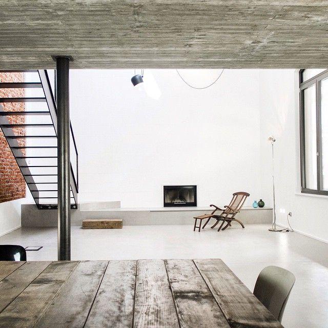 Modern Interiors Design Loft Like Interior UV House By