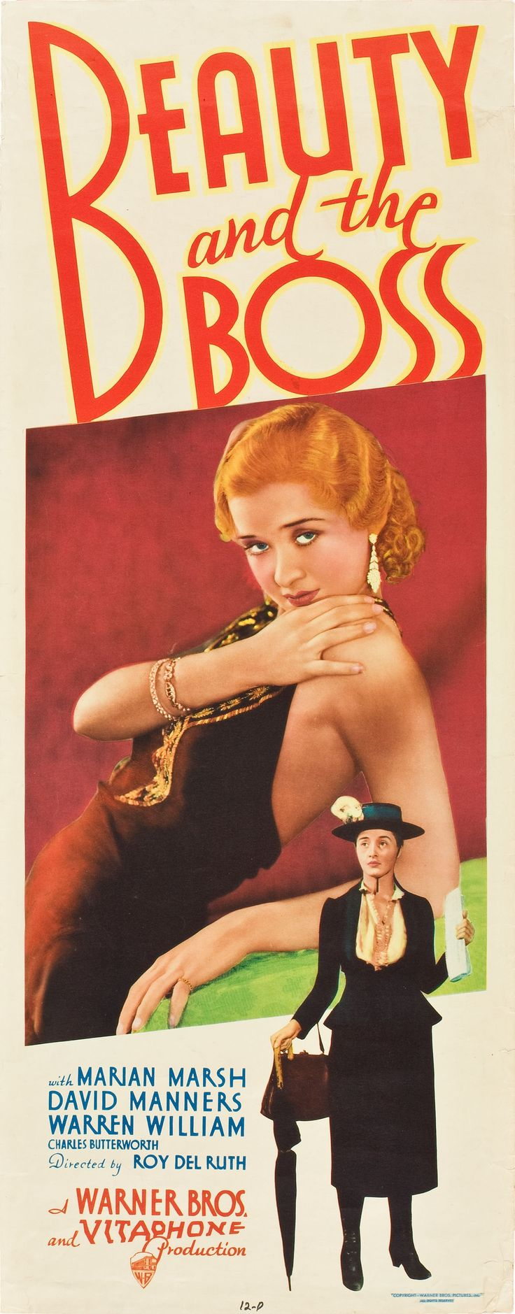 Best Film Posters Beauty And The Boss 1932 Stars