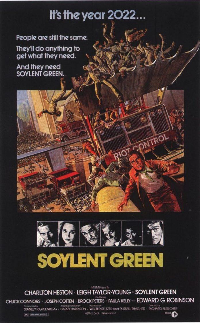 soylent green essay Soylent green [walter seltzer charlton heston sci-fi movies essay as heston investigates the murder of a magnate in the dictatorial soylent company.