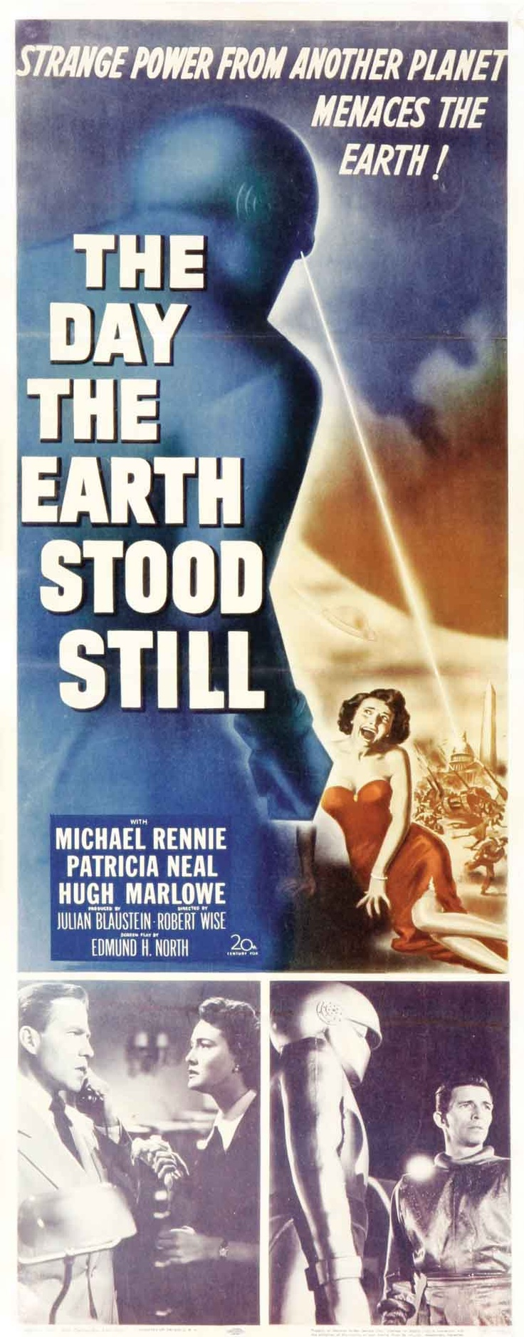 Best Film Posters : The Day the Earth Stood Still, 1951 ...