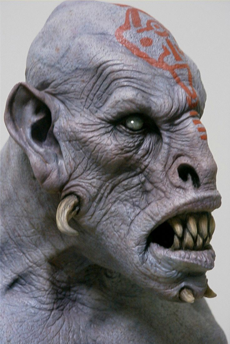 Easy clay sculptures bust xyz ogre g