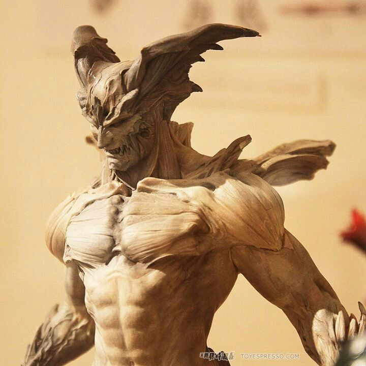 Easy Clay Sculptures : Devil Man. Insanely Amazeing Manga