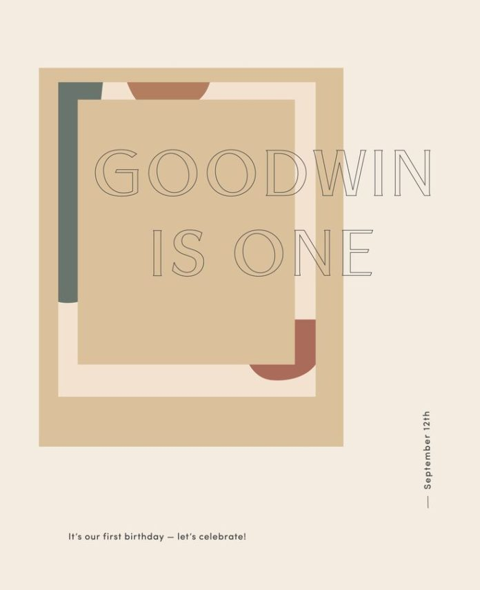Graphic Design Ideas Goodwin Is One By Kaela