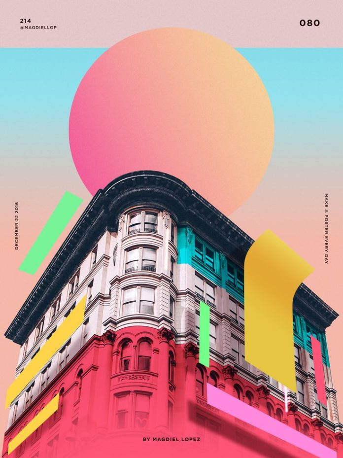 Graphic Design Ideas Wrap Buildings With Colourful