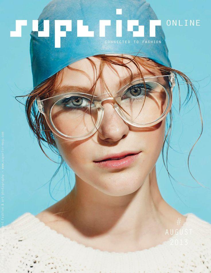 Graphic Design Inspiration Superior Online Magazine Cover Issue August 2013 Magazine Cover