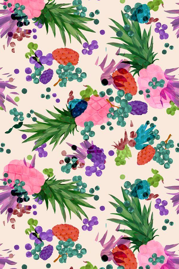 Illustration Ideas May PrintColourway 1 Louise Jones