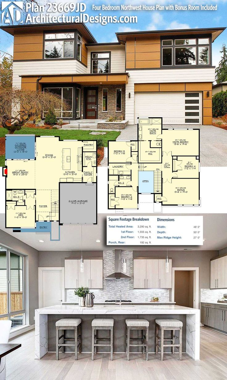 Modern house plans architectural designs modern - Modern architectural designs floor plans ...
