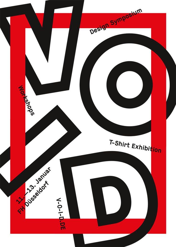 Graphic Design Ideas Symposium VOID Dear Art