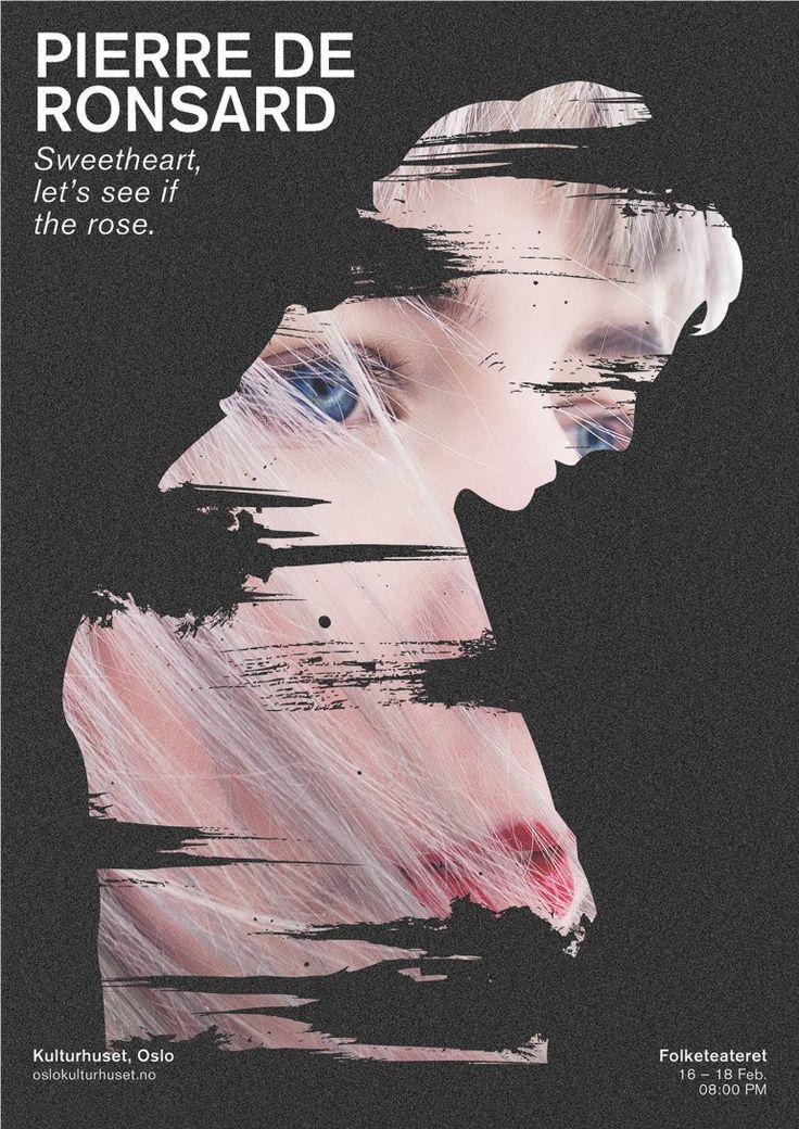 Graphic Design Ideas Theatre Poster Dear Art