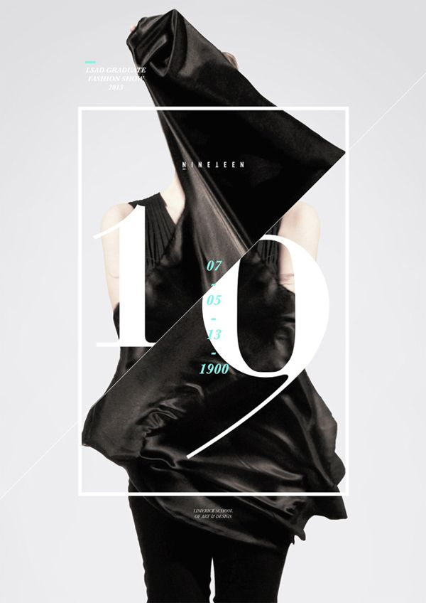 Graphic Design Inspiration Lsad Fashion Show Dear