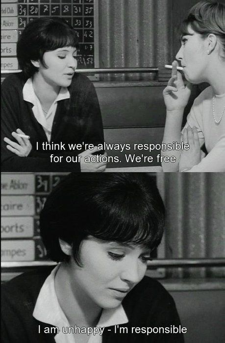 Best Movie Quotes Vivre Sa Vie 1962 Jean Luc Godard I Think