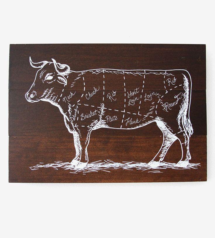 Graphic Design Ideas Butcher Cut Wood Panel By Everlong