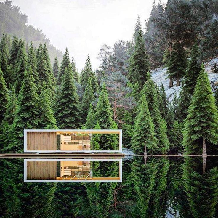 Modern house design stavanger house by alexander for Modern house design norway