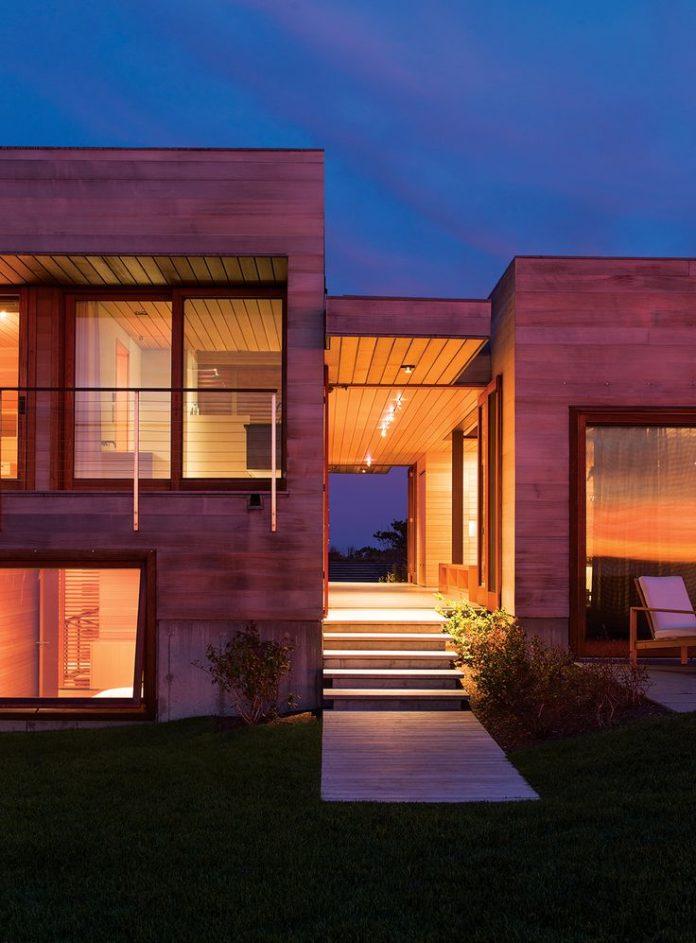 Modern House Design Martha S Vineyard By Peter Rose