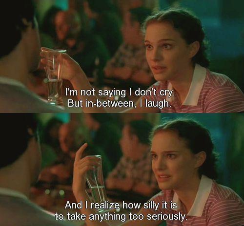 Best Movie Quotes : Natalie Portman in Garden State. One of ...