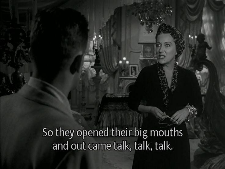 Famous Movie Quotes : Sunset Blvd. (1950) Gloria Swanson - Dear ...