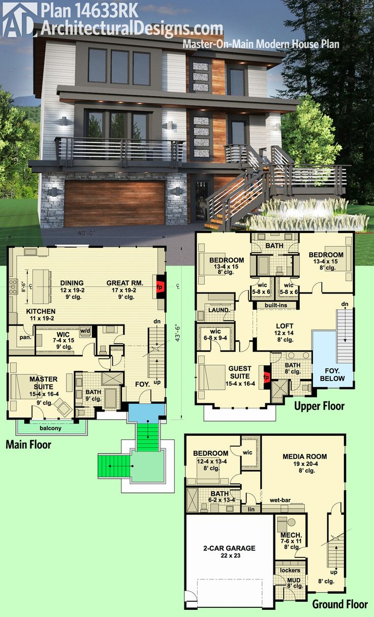 Modern House Design Philippines One Storey: Modern House Plans : Architectural Designs Modern House