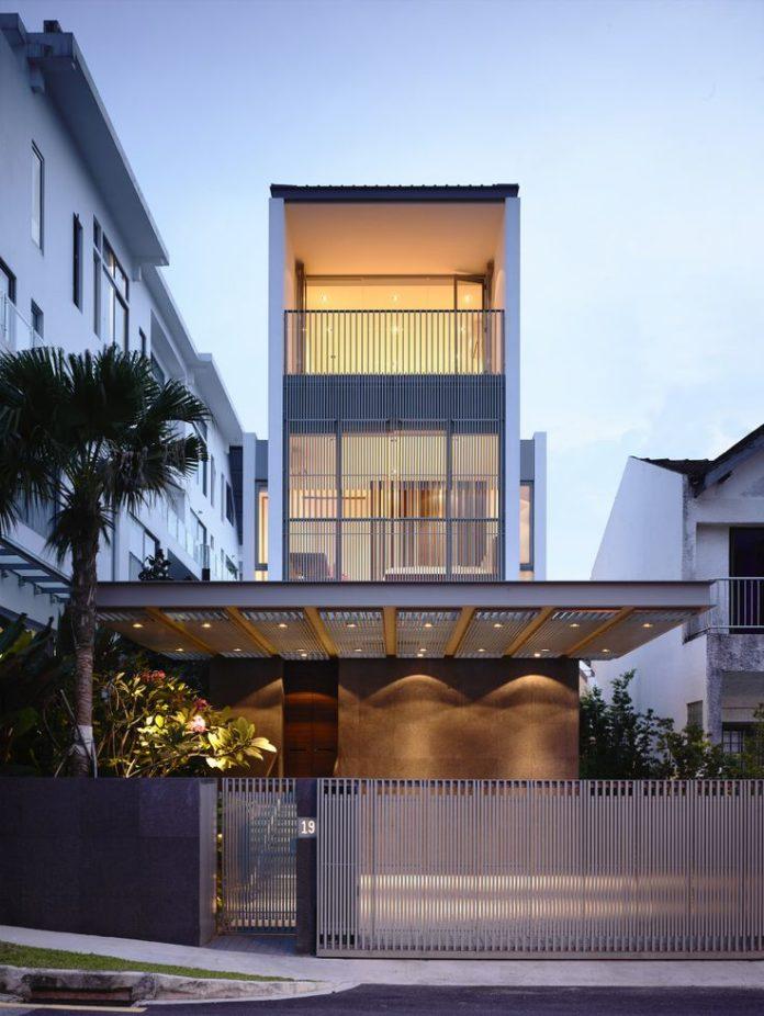 Modern House Design Jln Angin Laut House Singapore By