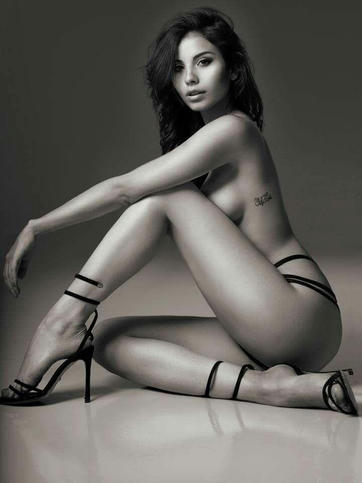 Afro sexy woman posing image photo