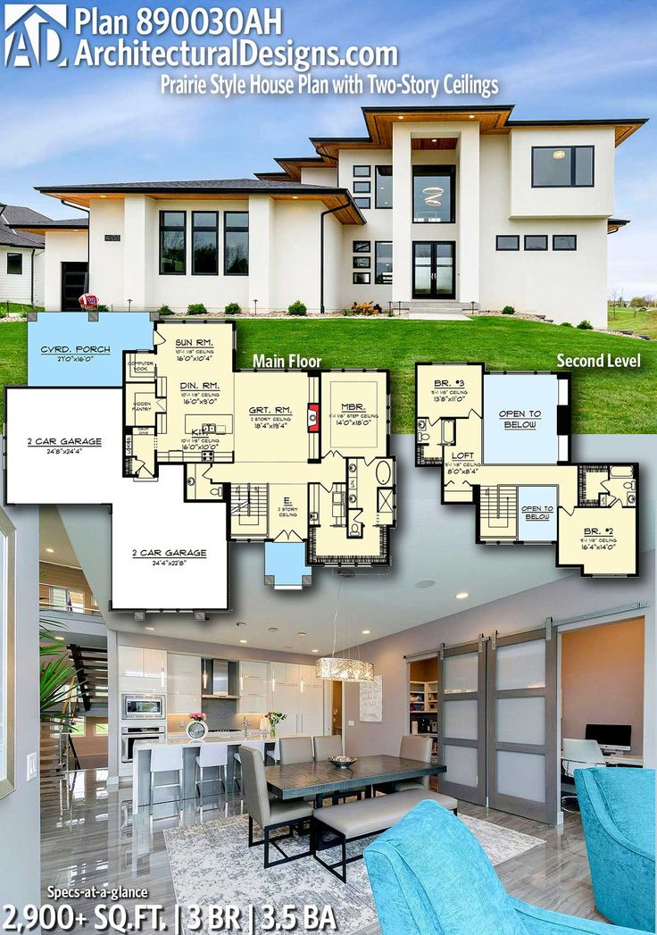 Modern House Plans : Architectural Designs Modern Home Plan ...