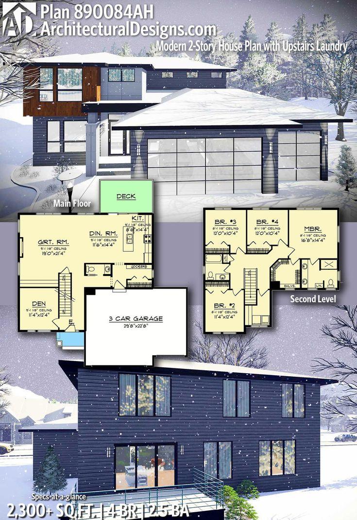 Trendy Ideas For Modern House Plans :