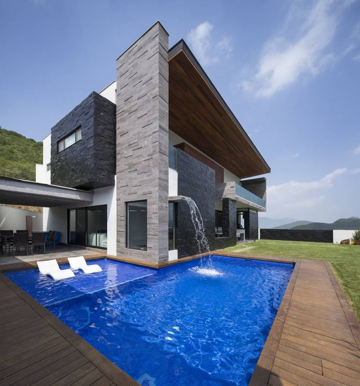 Modern House Design : Área de jardin/alberca (De URBN) - Dear Art ...