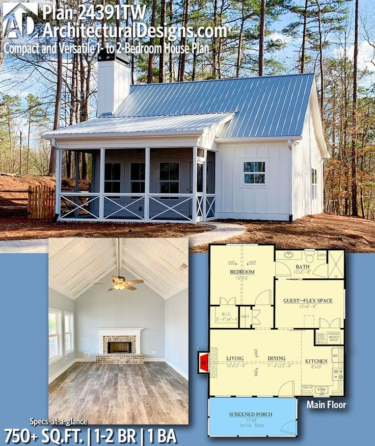 Newhome Ideas Interior: Modern House Plans : Architectural Designs Tiny House Plan