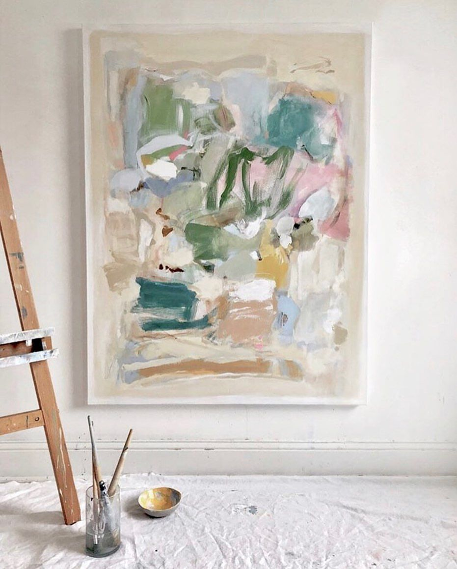 Painting Ideas C H R I S T I N A B A K E R On Instagram Spending The Day In My Studio Planning Out My Solo Show Forthcoming This