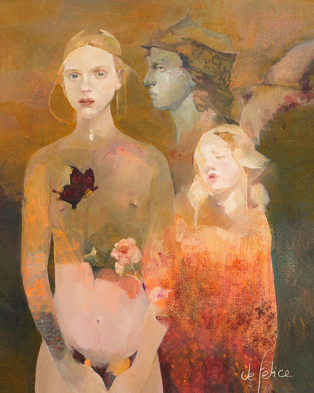 Painting Ideas Francoise Felice Born 1952 The Women Gallery Dear Art Leading Art Culture Magazine Database